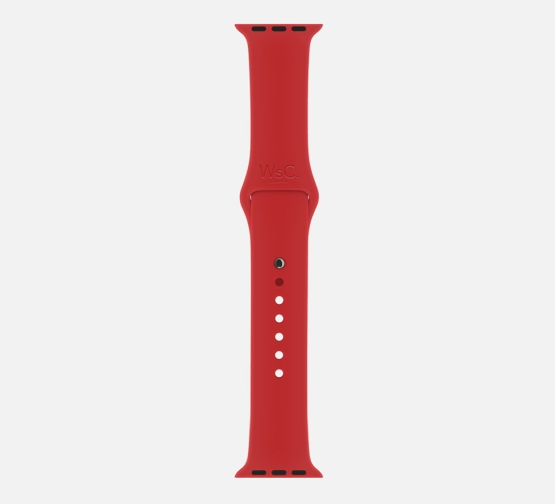 Apple Watch Sport Band Red Long