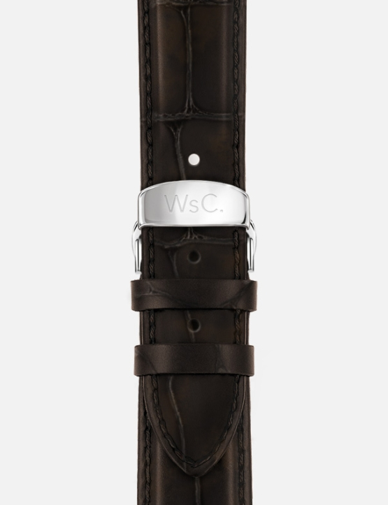 Brown WsC Prowler Apple Watch Strap Without Face