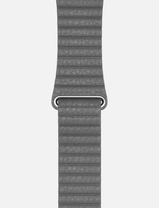 GreWsC Leather Loop Apple Watch Strap Without Face