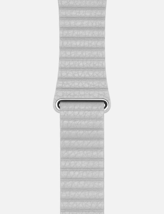 Stone WsC Leather Loop Apple Watch Strap Without Face