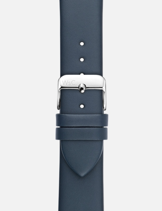 Blue Oxford Apple Watch Strap Without Face