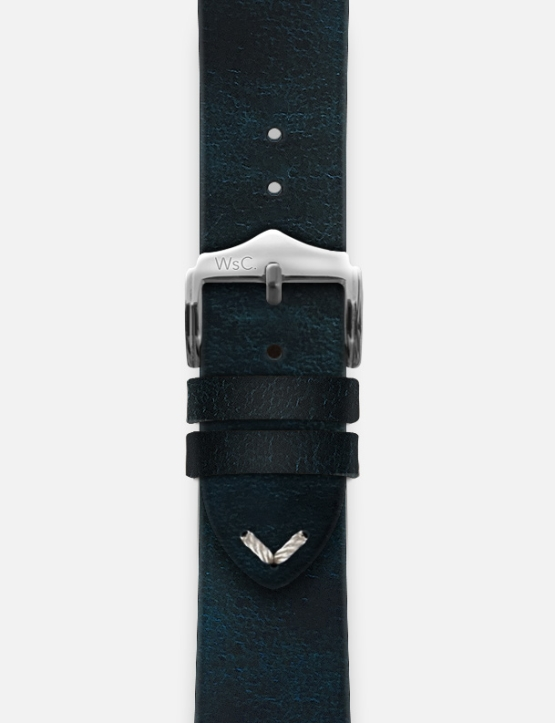Blue WsC Vengeance Apple Watch Straps