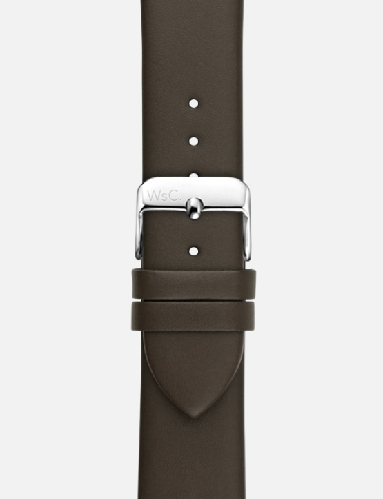 Brown WsC Oxford Apple Watch Strap