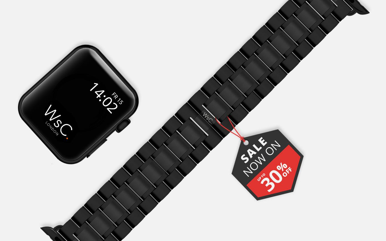 Stainless Steel Apple Watch Straps