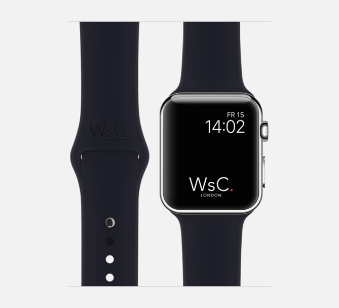 Apple Watch Sport Band Blue