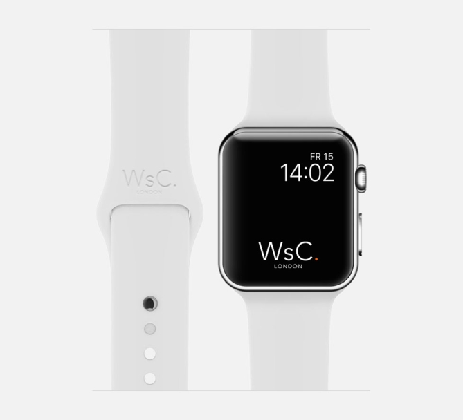 Apple Watch Sport Band White