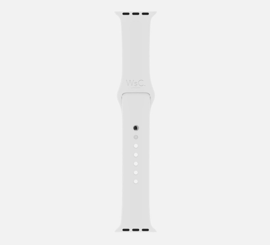 Apple Watch Sport Band White Long