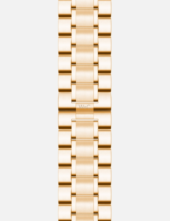 Gold WsC Fury Apple Watch Strap Without Face