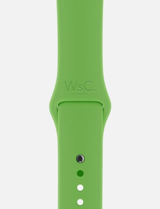 Green WsC Apple Watch Sport Band