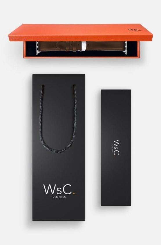 WsC Defiant Light Brown Silver Box And Bag