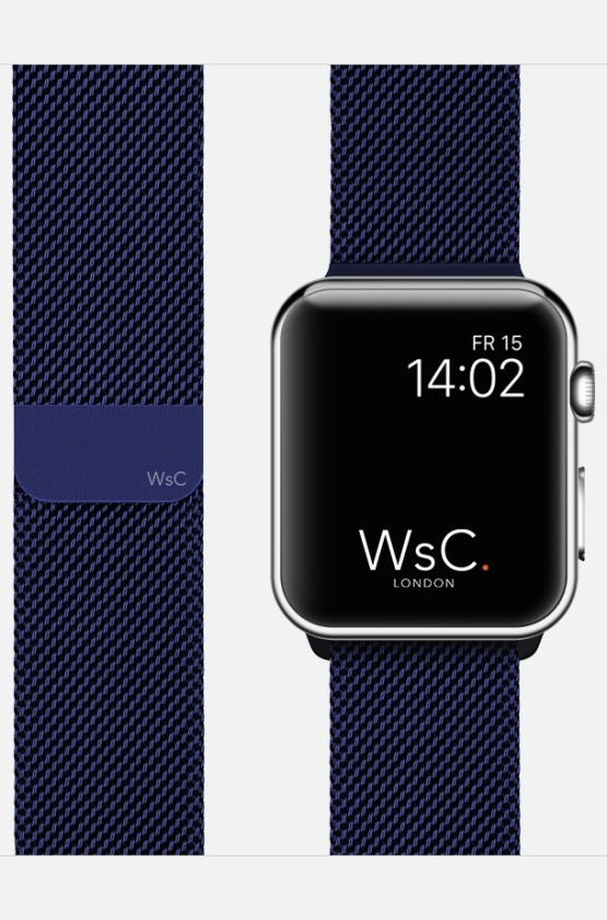 Apple Watch Mesh Loop Cosmic Blue