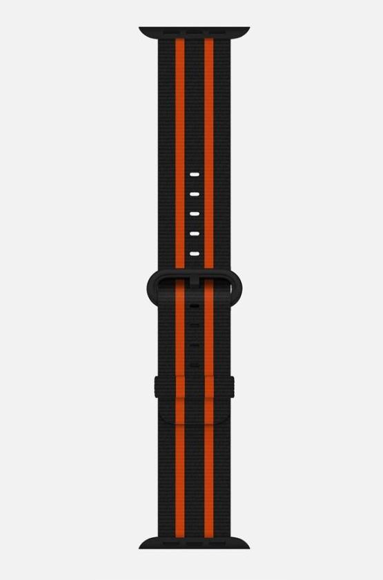 WsC® Woven Nylon - Black & Orange