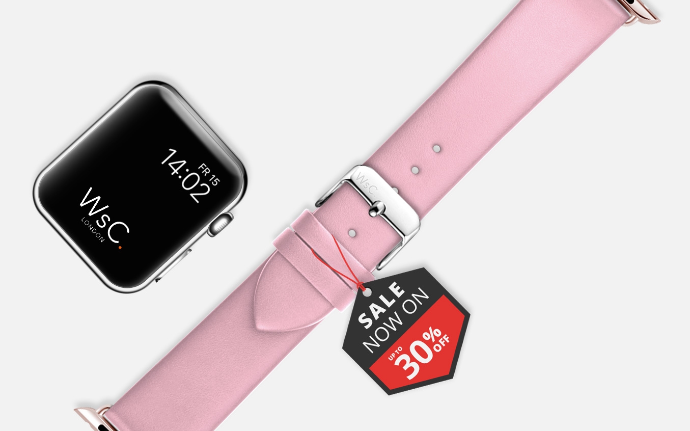 Womens Leather Apple Watch Straps