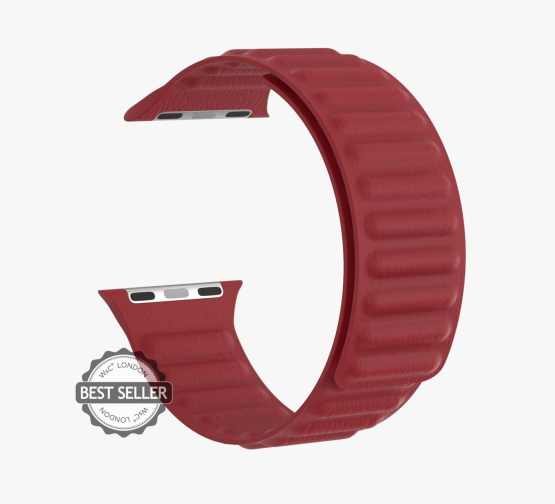WsC® Leather Link - Deep Red
