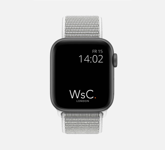 Apple Watch Sport Loop White