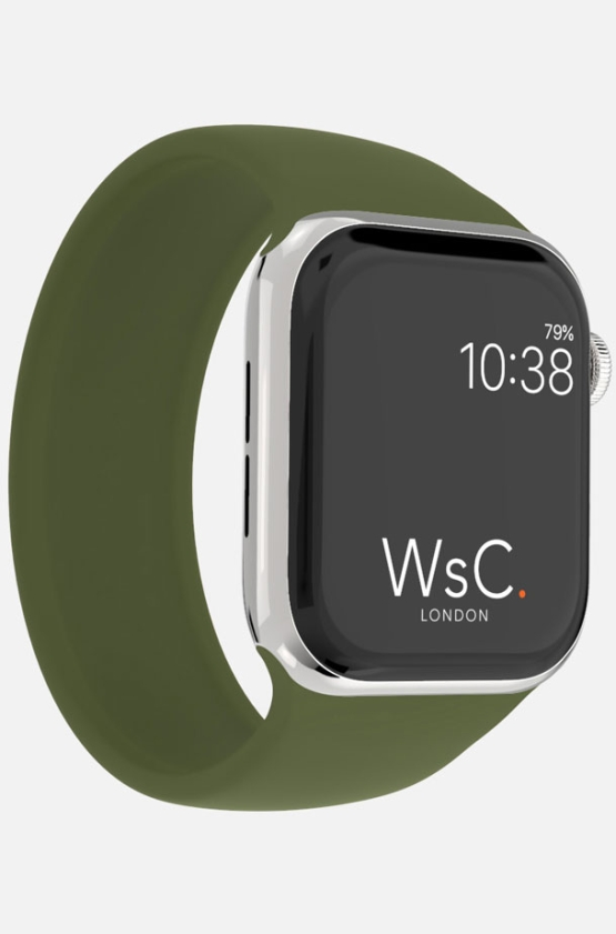 Silicone Solo Loop Apple Watch Green Category