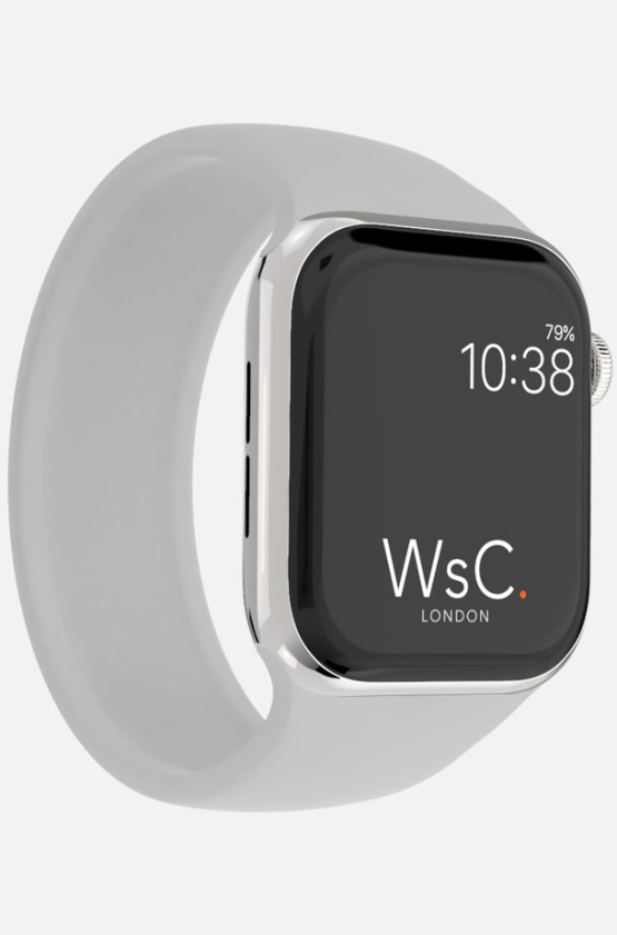 Silicone Solo Loop Apple Watch Grey Category