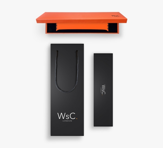 Silicone Solo Loop Apple Watch Orange Box and Bag