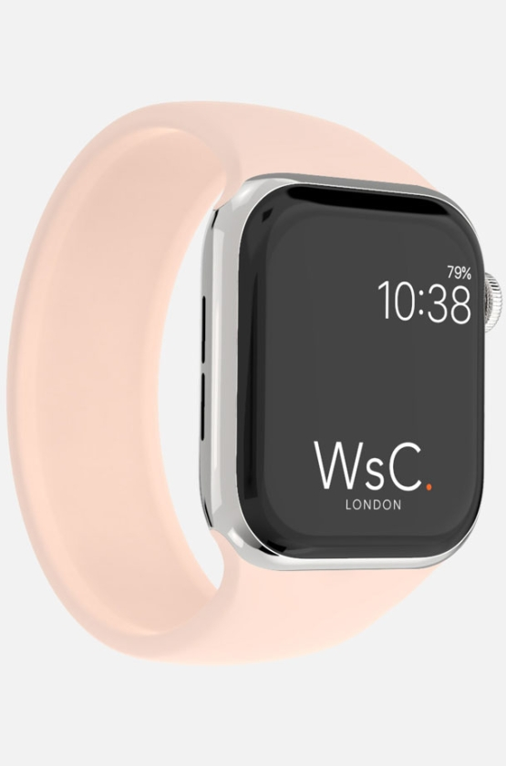 Silicone Solo Loop Apple Watch Pink Category
