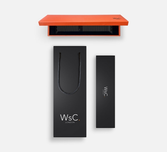 WSC Mesh Loop Apple Watch Strap Black Box and Bag