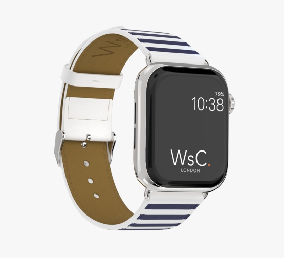 WsC Navy Stripes Stainless Steel