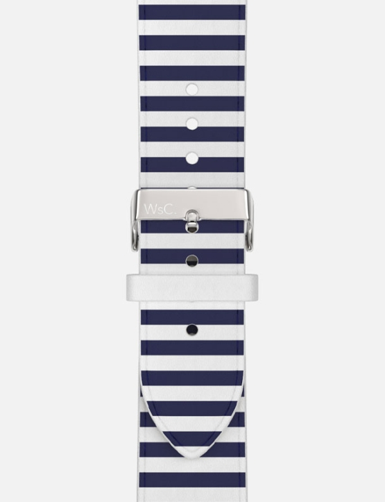 WsC Navy Stripes Stainless Steel Close Up Category